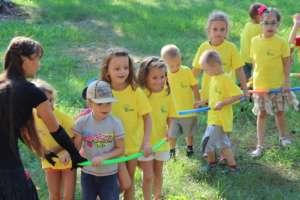 Children enjoy after class outdoor activities