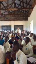 Teacher trainees in Iganga
