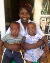 Lori with the Twins