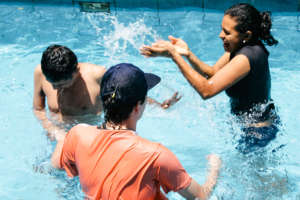 Therapy in Local Community Pool