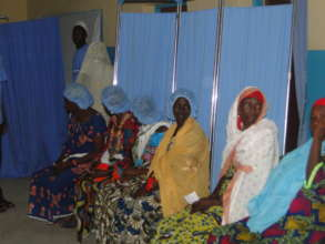 Beneficiaries of one of VCI co-sponsored projects