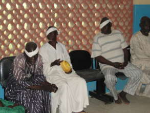 More beneficiaries of a cataract surgery project