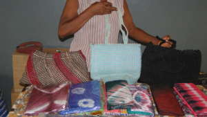 Items made by blind students VCI co-sponsors