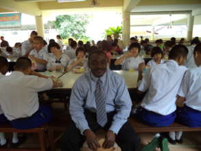 VCI president at sch for the blind in Thailand