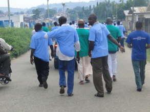 Walk for Sight program in Nigeria