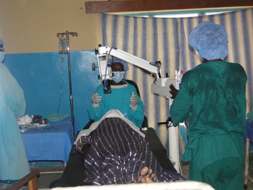 Cataract surgery for 250 disadvantaged Nigerians