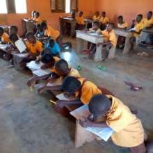 Newly enrolled pupils determined to learn