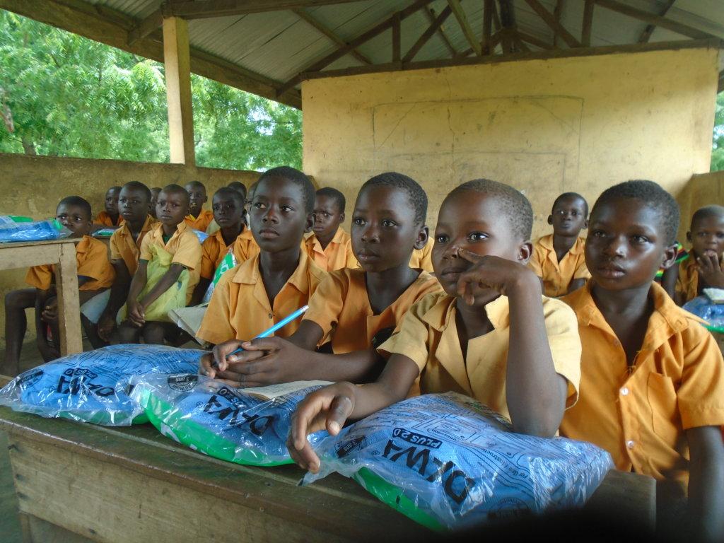 Educate 200 poor children in rural Ghana