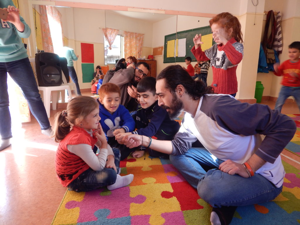 Help Young Syrians Affected By War