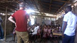 Ebola Orphans supported by The Marc Bolan School.