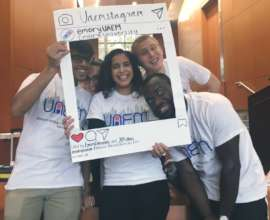 UAEM student activists at the Emory conference!