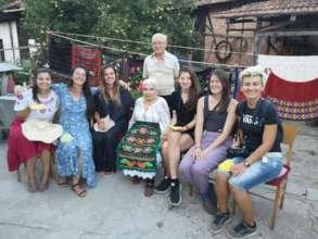 Residents and granny Tsveta