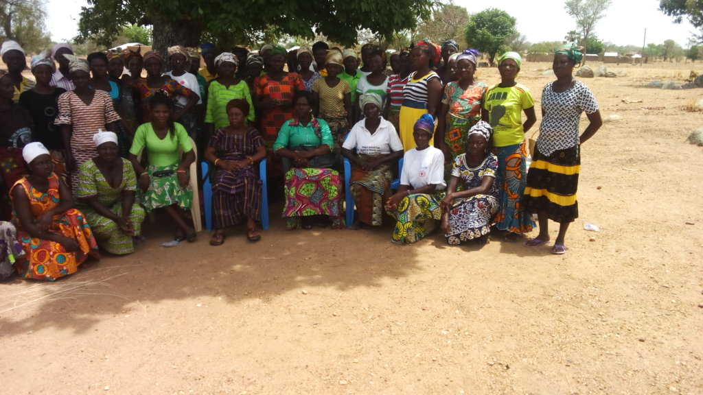 Providing 500 Women with a Structure in Ghana