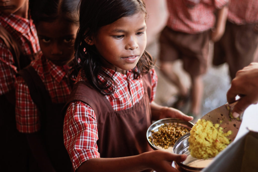 Help Us Feed Malnourished Children in India