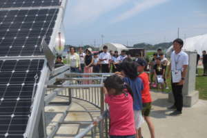 Summer School: Site-visit with parenents