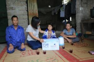School Milk Giving activity