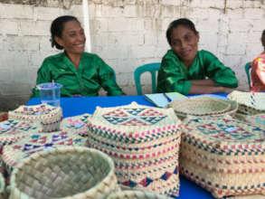 Atauro Handicraft Market - Uaro-Ana's artisans