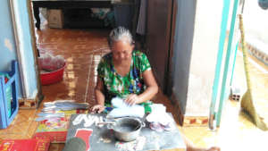 Ph's grandmother daily work