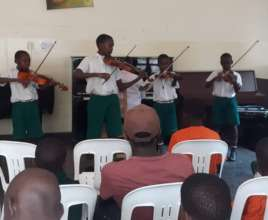 St Mary Kevin Students in concert