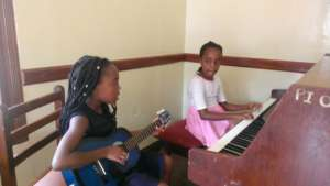 Piano and guitar duet