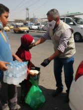 Street kids get food/hygiene support during COVID