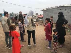 The slum-like area where kids like Abbas live