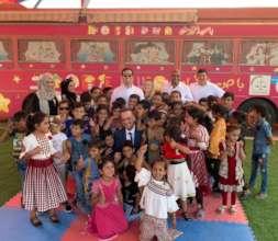 ICF team visits Hope Bus 1