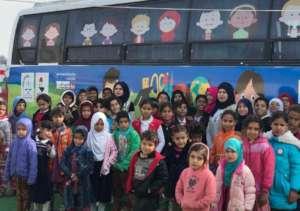 Students at Hope Bus 2