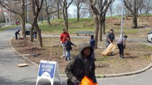 Monthly neighborhood cleanup
