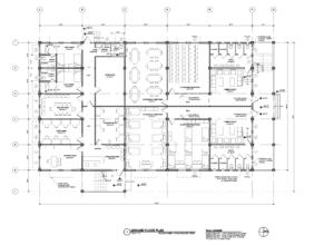 Ground floor plans for new Training Centre