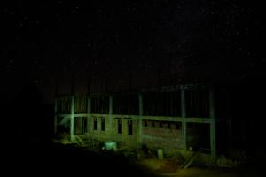 Training centre at night
