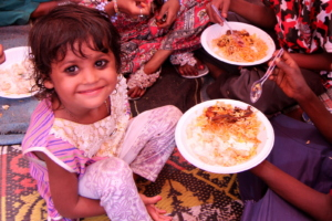 Nutrition food given to children and their mothers