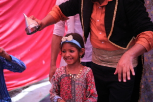 Mehawish participated in magic show