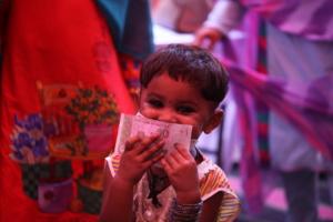 Misbah happy to received Eidi (money)