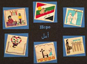 The FAWCO quilt symbolizes hope!