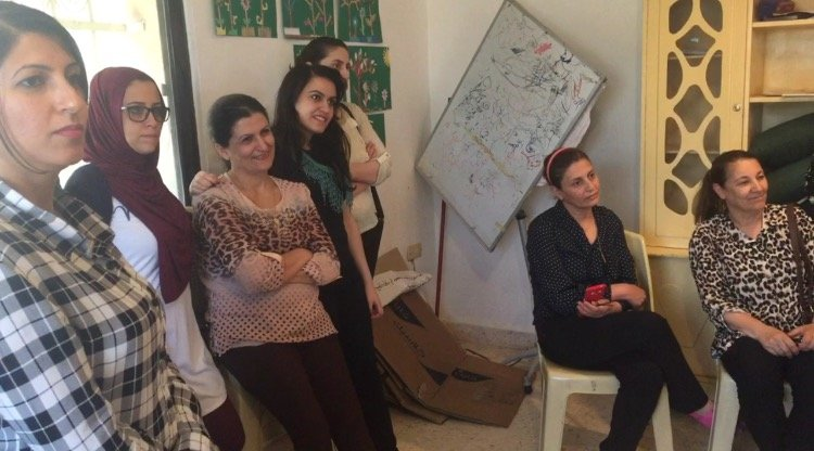 Train and Empower 50 Refugee Women in Jordan