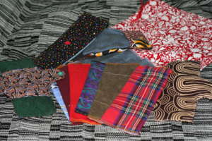 Reusable ecological sanitary pad kit