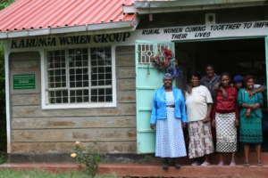 Some of Karunga Women Self Help Group members