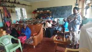 Karunga Women working in their workshop