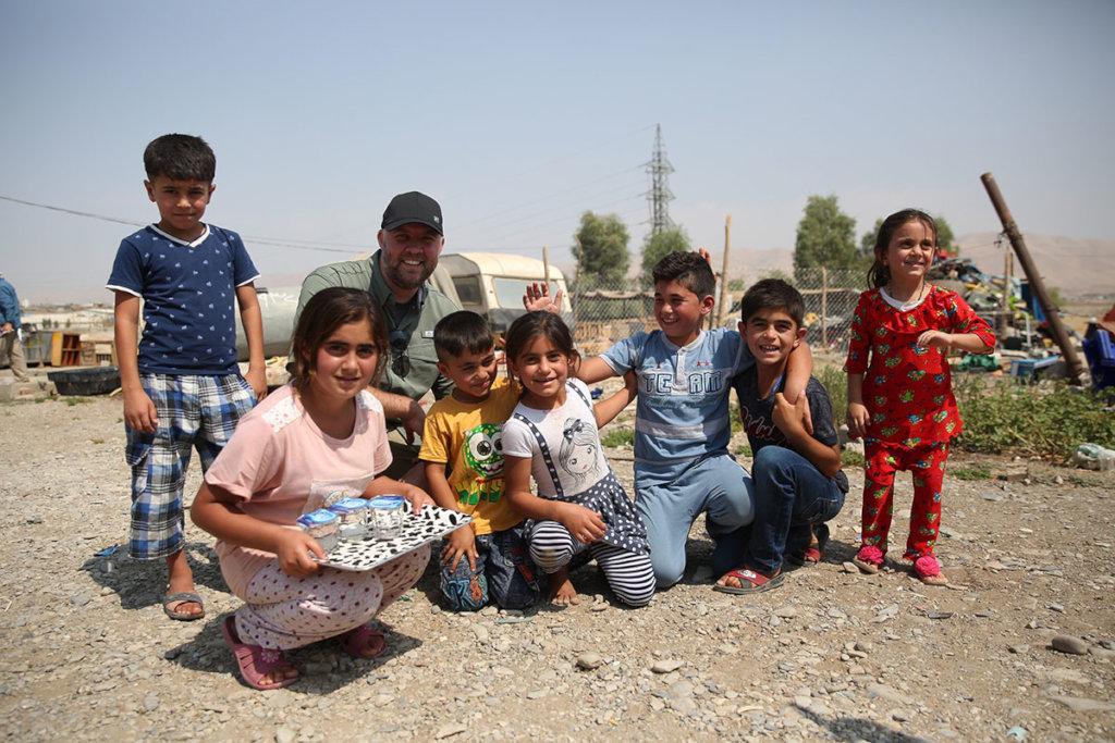 Rebuilding lives - Yzidis in Iraq