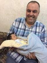 Newborn baby in Jordan