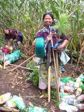 Maria Mercedes and Her New Gardening Tools