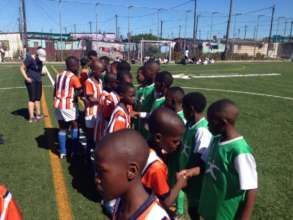 Our recent termly soccer tournament