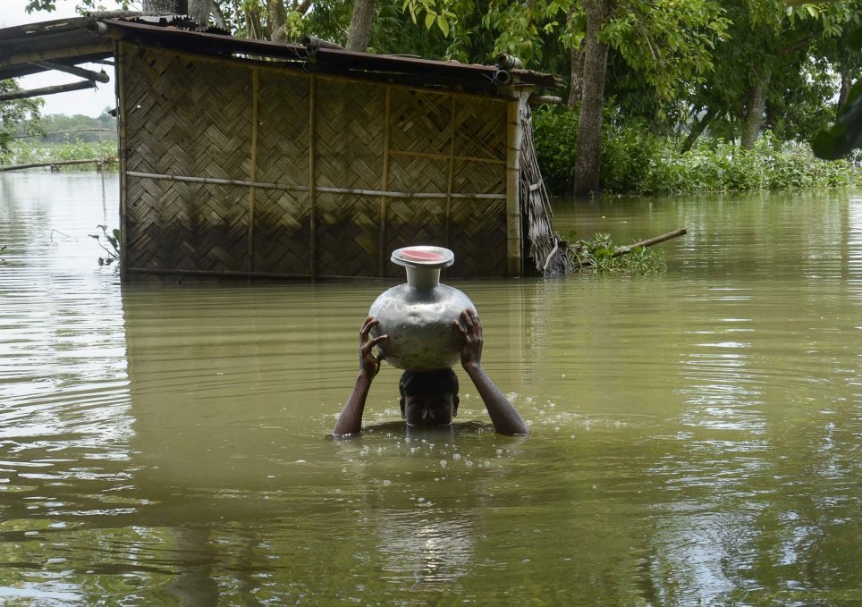 Support Flood Affected Families in India