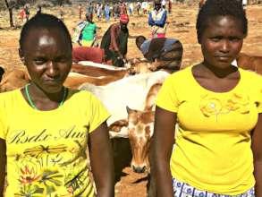 Naomi and Anne met at a CPIK peace camp