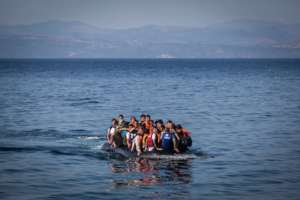 Refugees arriving by boat!