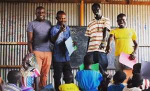 IsraAID's facilitators in Kakuma