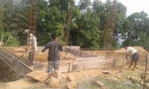 Foundations Dug | May