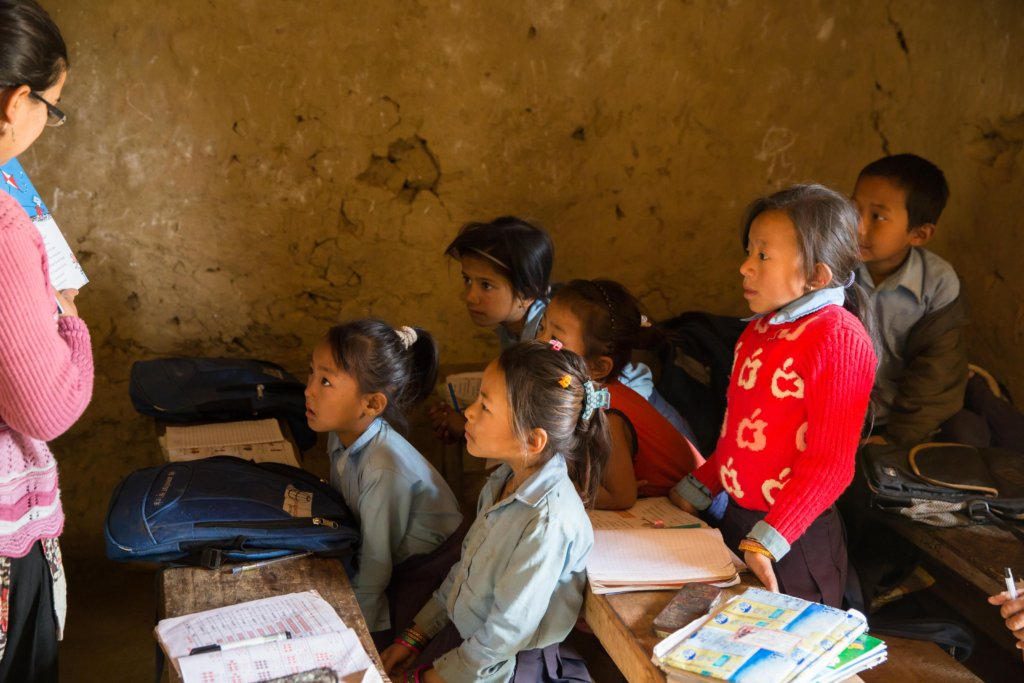 Rebuild Earthquake-Damaged School in Rural Nepal