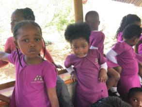 Molo Mhlaba girls visiting Monkey Town